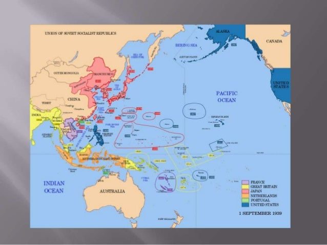 the pacific theater of wwii