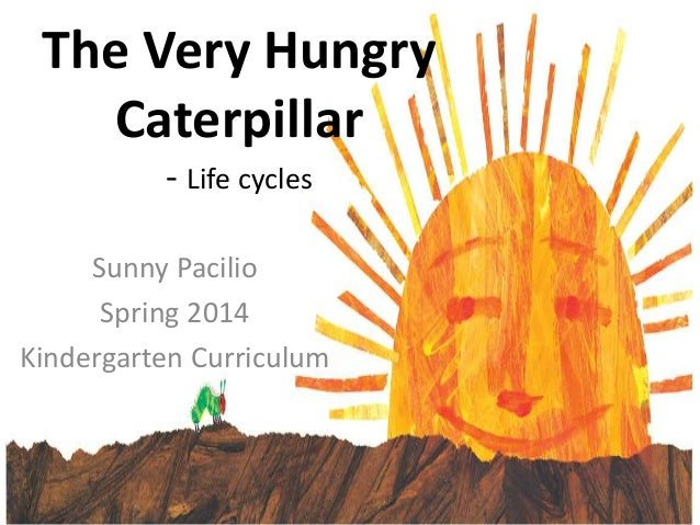 The Very Hungry Caterpillar - Life cycles Sunny Pacilio Spring 2014 Kindergarten Curriculum