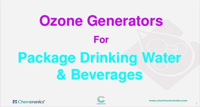 1 Package Drinking Water & Beverages Ozone Generators For