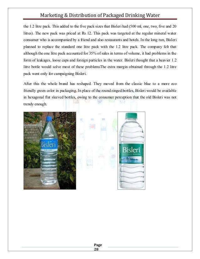 properties of drinking water pdf