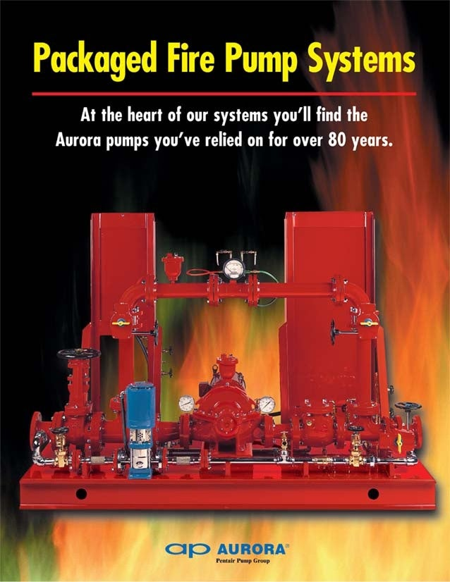 Aurora Packaged Fire Pump Systems