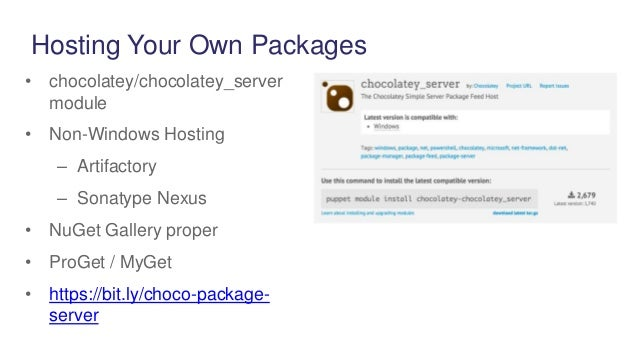 Package Management on Windows with Chocolatey | 638 x 359 jpeg 36kB