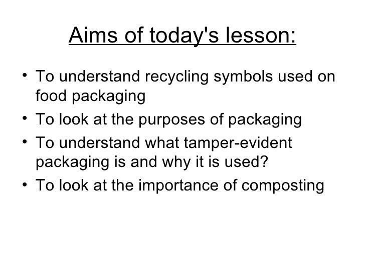 Year 10 Packaging Slide 2