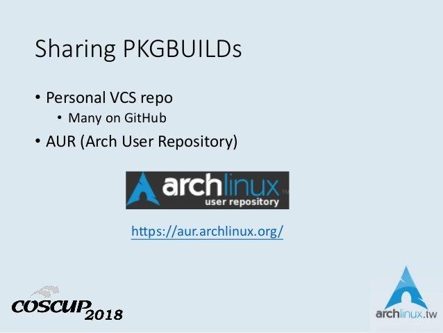 Arch Linux Package 的前世今生