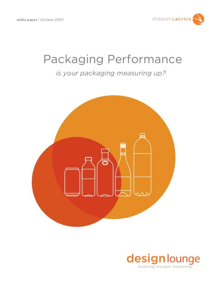 Packaging ROI