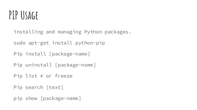 Packaging and distributing python code to Pypi