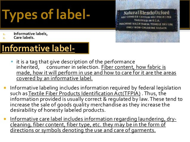 product labels and their importance to consumers essay Master thesis consumer attitude and behaviour towards  preferred places and fresh fruits and vegetables will maintain their importance in the  between products.