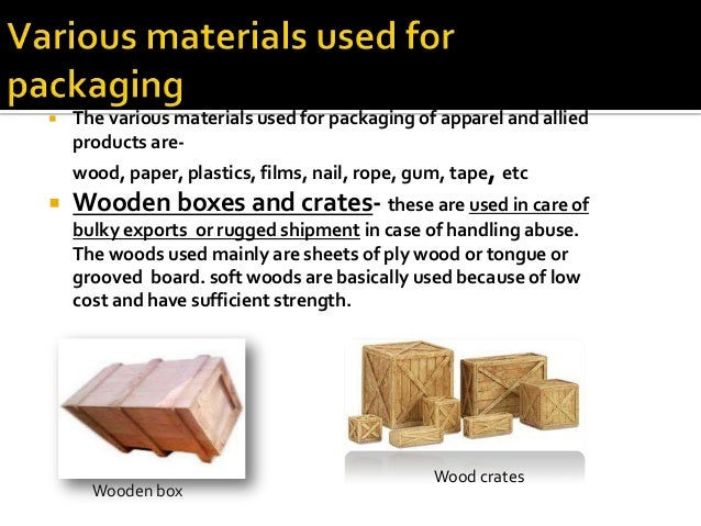 Packaging and labeling of apparel and tetiles for Waste material to useful products