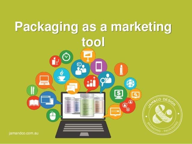 jamandco.com.au Packaging as a marketing tool