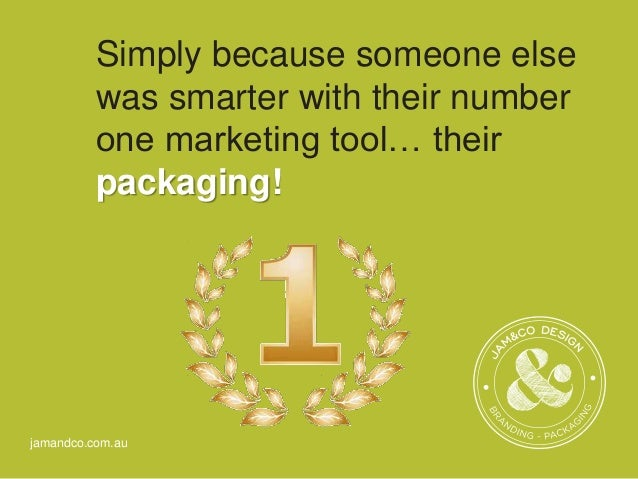 packaging as a marketing tool