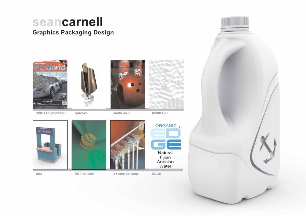 seancarnell Graphics Packaging Design      RIGHT HEMISPHERE   QANTAS      MAINLAND          KIWIBANK      BNZ             ...