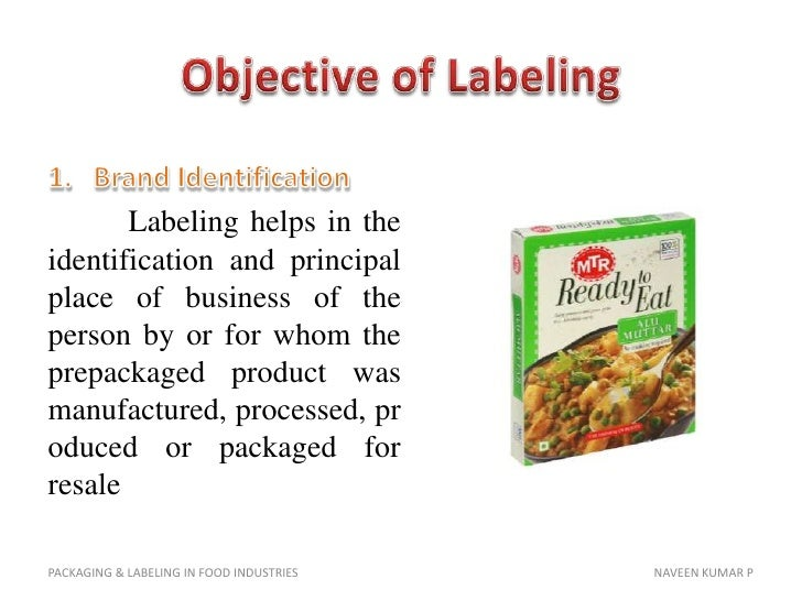 ethics in food labeling and packaging Free essay: ethical food labeling and packaging after seeing the ad on television or in the weekly grocer flyer, seeing the actual labeling on a product is.