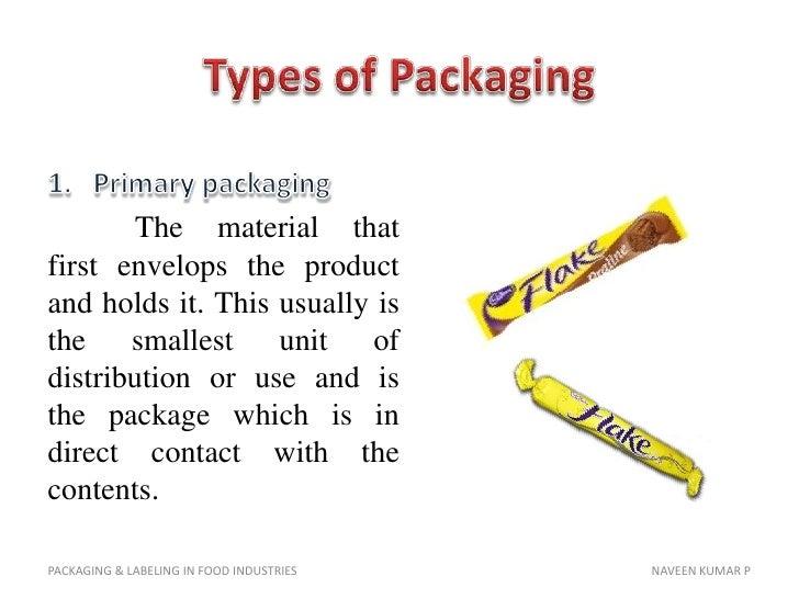 Packaging Labeling In Food Industries