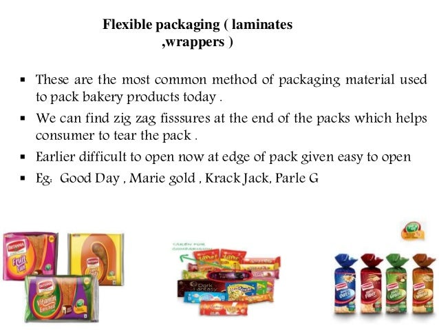 packaging materials for bakery products prasad