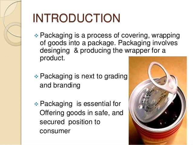 Packaging ppt