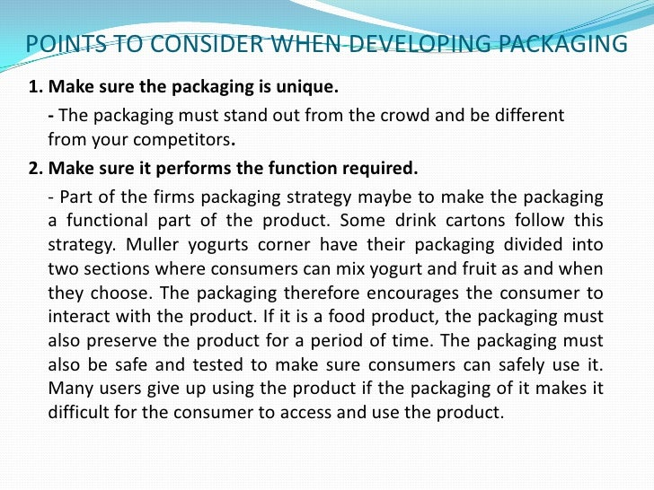 Packaging has a better reach than advertising does, and can set a brand apart from its competitors. It promotes and rein...