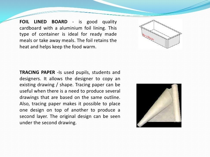 TYPES OF PACKAGING<br />- Paper and Carton Packaging<br />Paper and carton packaging is used for different types of goods...