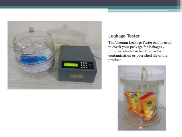 Packaging Testing Equipment By Packtest