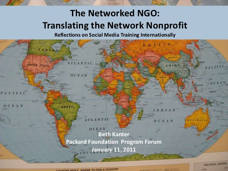 The Networked NGO:<br />Translating the Network NonprofitReflections on Social Media Training Internationally<br />Beth Ka...