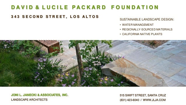 Sustainable landscape design by joni l janecki assoc for Sustainable landscape design