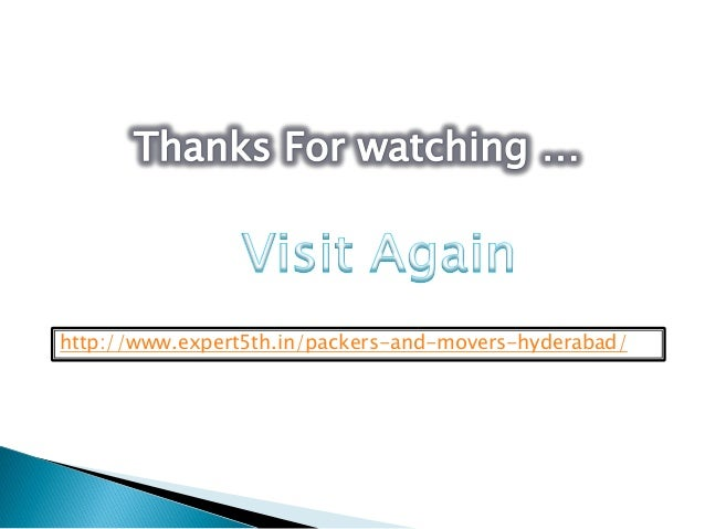 http://www.expert5th.in/packers-and-movers-hyderabad/