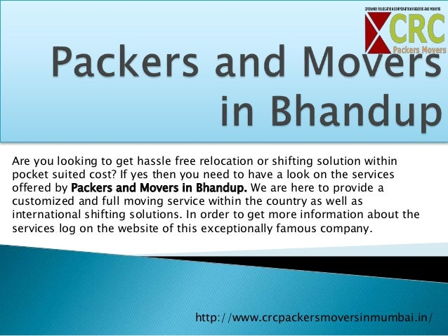 Are you looking to get hassle free relocation or shifting solution within pocket suited cost? If yes then you need to have...