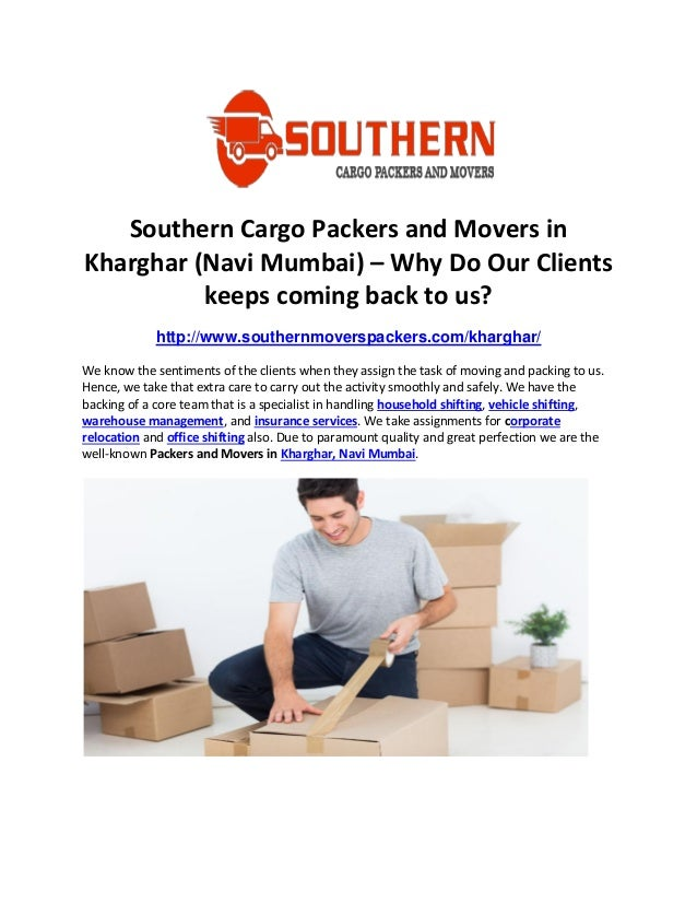 Rooms: Southern Cargo Packers And Movers In Kharghar (Navi Mumbai