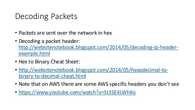 Packet Capture on AWS