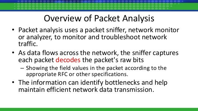 Packet Analysis - Course Technology Computing Conference