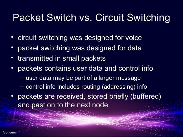 Concepts of circuit switching systems essay