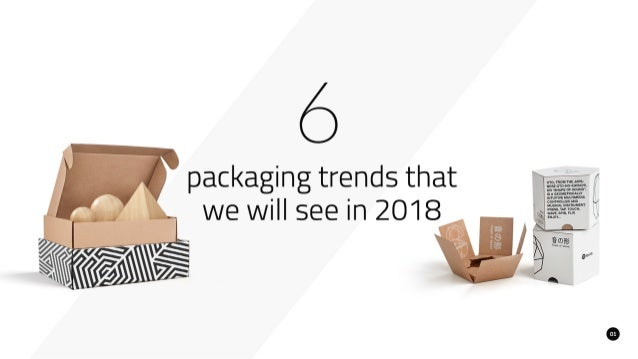 6 Packaging Trends That We Will See in 2018
