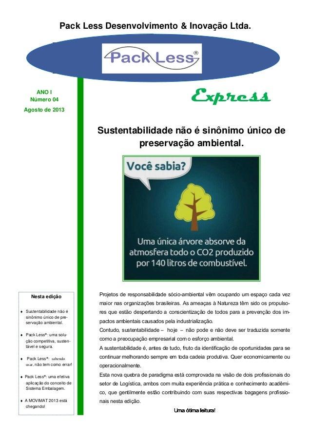 Projetos de responsabilidade sócio-ambiental vêm ocupando um espaço cada vez maior nas organizações brasileiras. As ameaça...