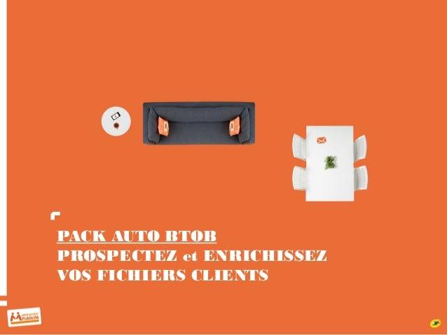 PACK AUTO BTOB PROSPECTEZ et ENRICHISSEZ VOS FICHIERS CLIENTS