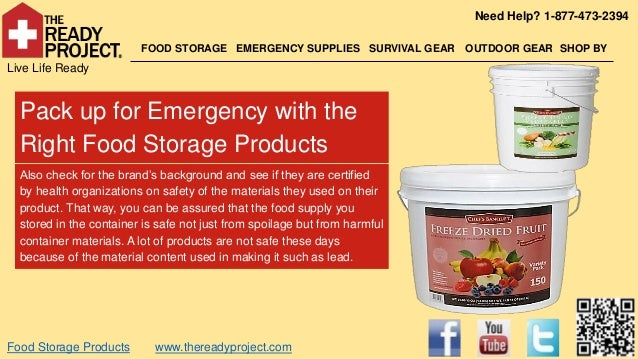 Need Help? 1-877-473-2394                         FOOD STORAGE EMERGENCY SUPPLIES SURVIVAL GEAR      OUTDOOR GEAR SHOP BYL...