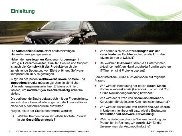 Einleitung  Die Automobilindustrie steht heute vielfältigen Herausforderungen gegenüber: Neben den gestiegenen Kundenanfor...