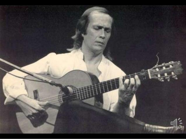 Francisco Sánchez Gomes, conocido mundialmente como Paco de Lucía nació el 21 de Diciembre de 1947 en Cádiz, España. El gu...