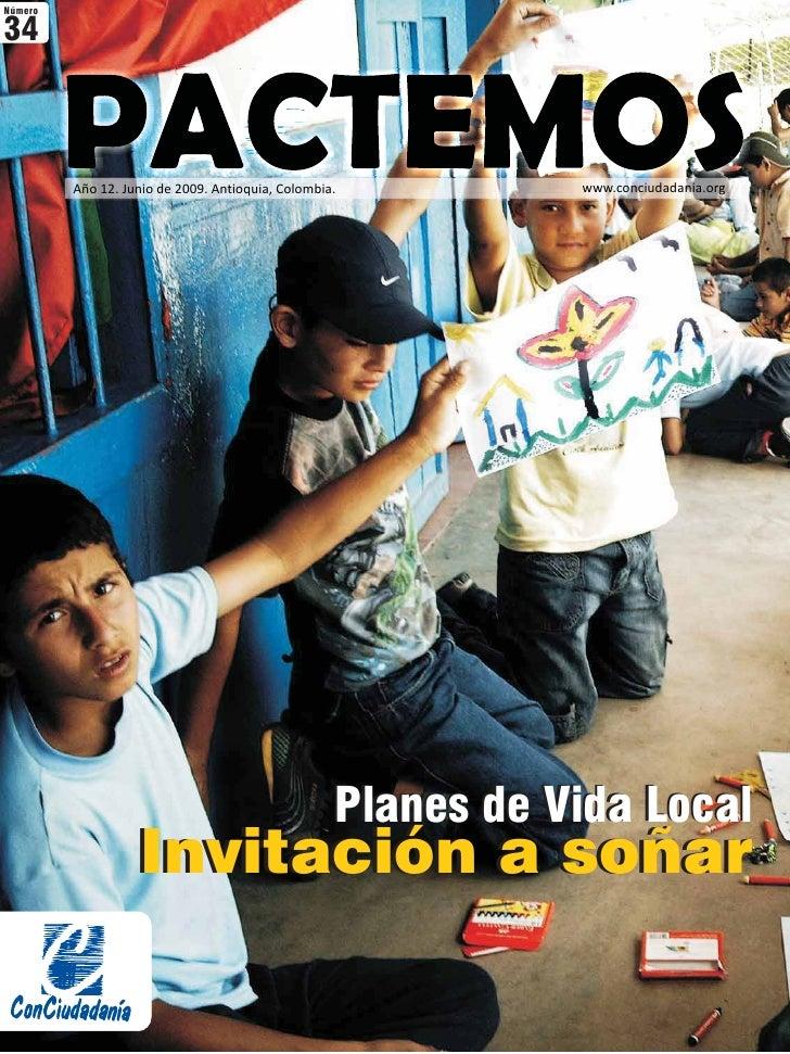 Número  34             Año 12. Junio de 2009. Antioquia, Colombia.          www.conciudadania.org                         ...
