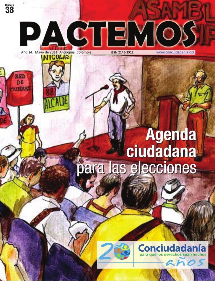 Agenda Ciudadana para las elecciones