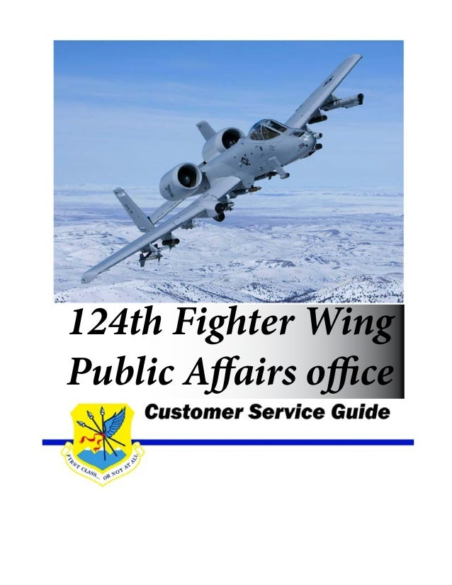 124th Fighter Wing Public Affairs office