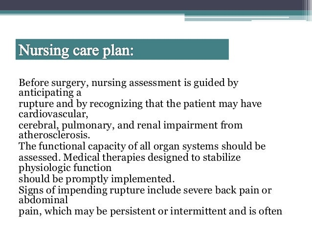 artrial disorder managent and nursing care plan