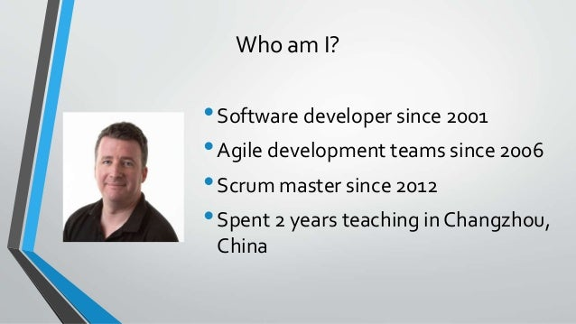Paddy Corry Blending Agile Approaches Slide 3