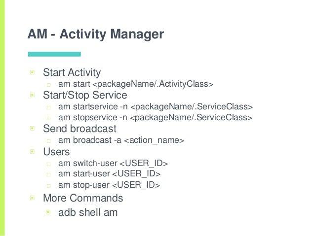 Android - ADB