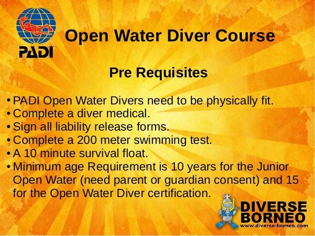 Padi open water swim test - Moroccan food dishes