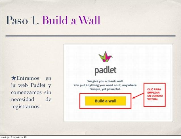 Padlet tutorial Slide 2