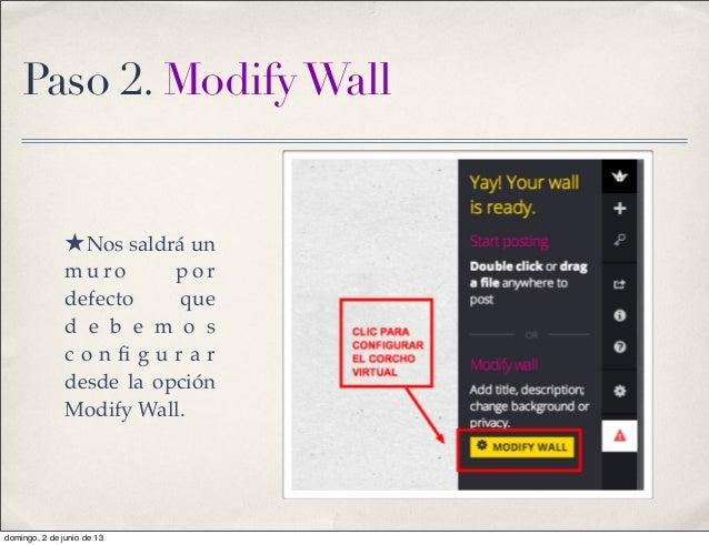 Padlet tutorial Slide 3