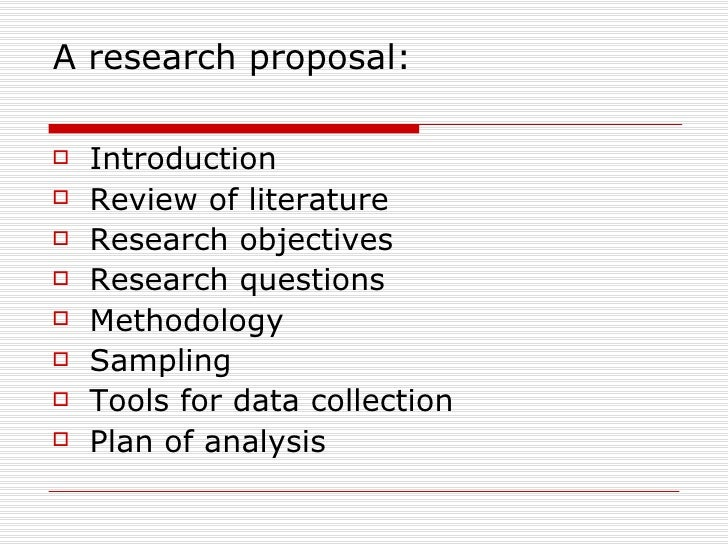 Research Proposal Key Elements Of A Research Proposal Writing A