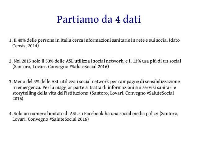 I social media come strumento di prevenzione Slide 2
