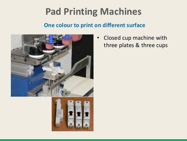 Pad printing machines kin c- 90 3 C L & T