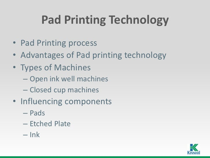Pad Printing Technology
