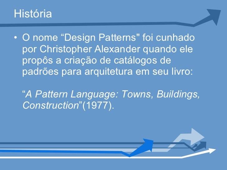 Padrões de design orientado a objetos Slide 2